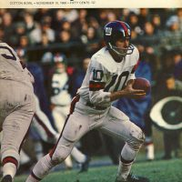 New York Giants at Dallas Cowboys Game Program (November 10, 1968)