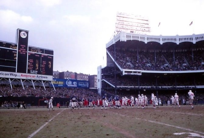 St. Louis Cardinals at New York Giants (December 8, 1968)