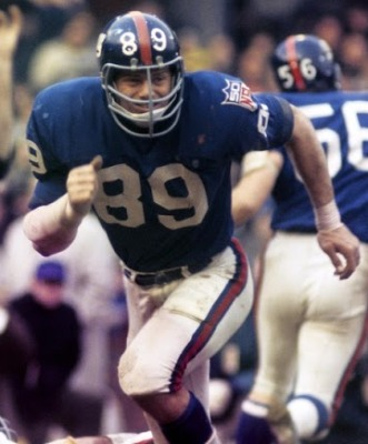 Fred Dryer, New York Giants (December 21, 1969)