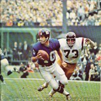 Fran Tarkenton, 1969 New York Giants Yearbook