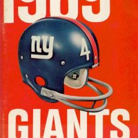 New York Giants 1969 Media Guide