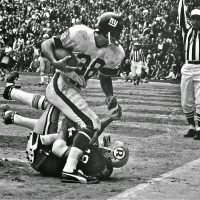 Bob Tucker, New York Giants at Washington Redskins (November 29,1970)