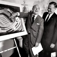 William Cahill, Wellington Mara, David Werblin; Meadowlands Announcement (October 27, 1971)