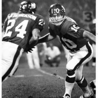 Tucker Frederickson and Fran Tarkenton, New York Giants (1971 Preseason)