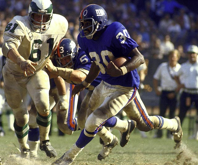 Ron Johnson, New York Giants (September 23, 1973)