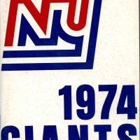 New York Giants 1974 Media Guide