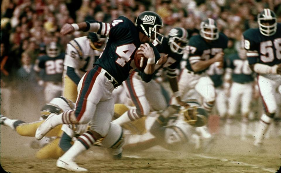 Doug Kotar, San Diego Chargers at New York Giants (November 1, 1975)