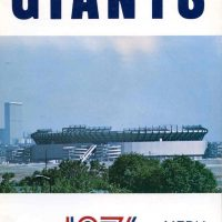 New York Giants 1976 Media Guide