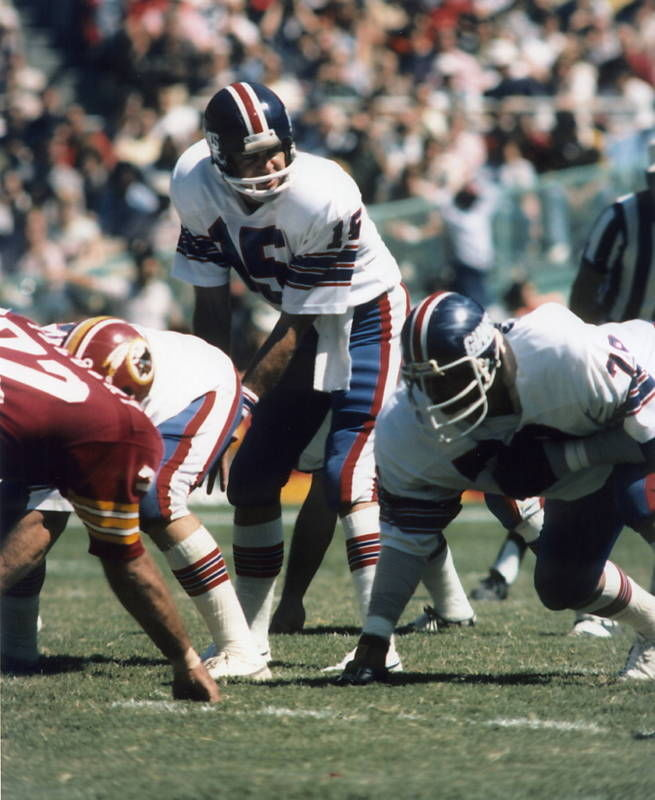 Craig Morton (15), New York Giants (September 12, 1976)