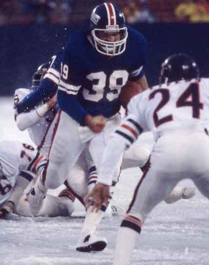 Larry Csonka, New York Giants (December 18, 1977)
