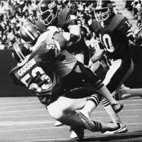 Harry Carson, New York Giants (October 16, 1977)