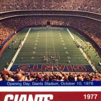 New York Giants 1977 Media Guide