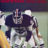 1979 New York Giants Media Guide