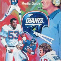 1980 New York Giants Media Guide