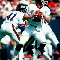 Bo Matthews (41), Phil Simms (11), New York Giants (September 28, 1980)