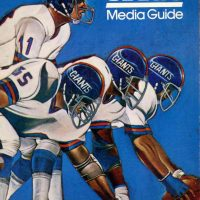 1981 New York Giants Media Guide