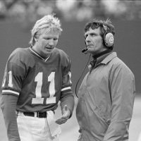 Phil Simms and Ray Perkins, New York Giants (1981)
