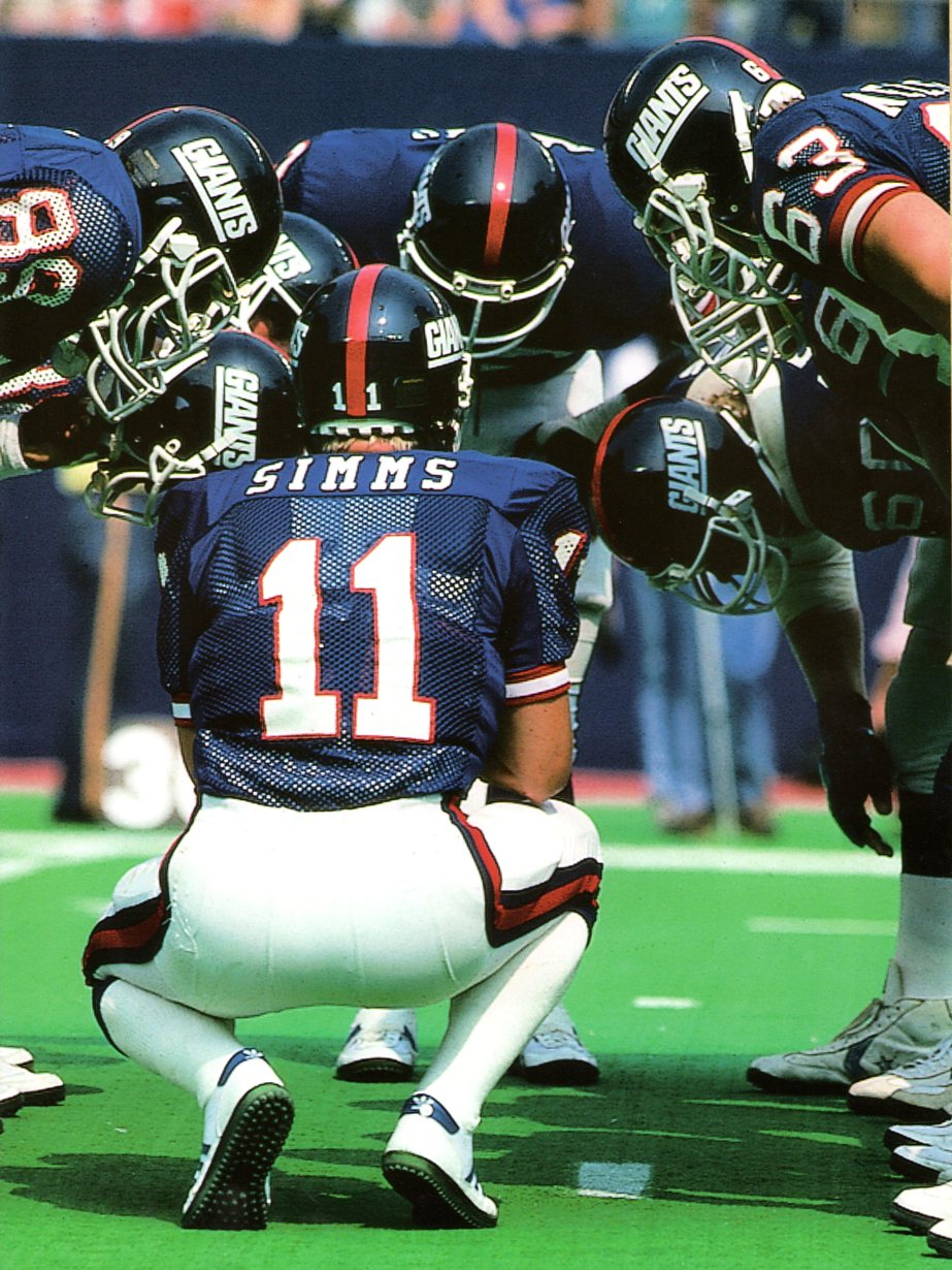 Phil Simms, New York Giants (1985)