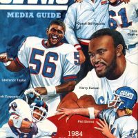 1985 New York Giants Media Guide