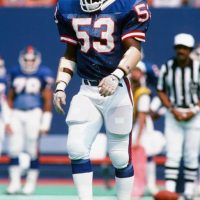 Harry Carson, New York Giants (September 22, 1985)