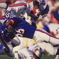 Carl Banks (58), Kenny Hill (48), New York Giants (January 25, 1987)