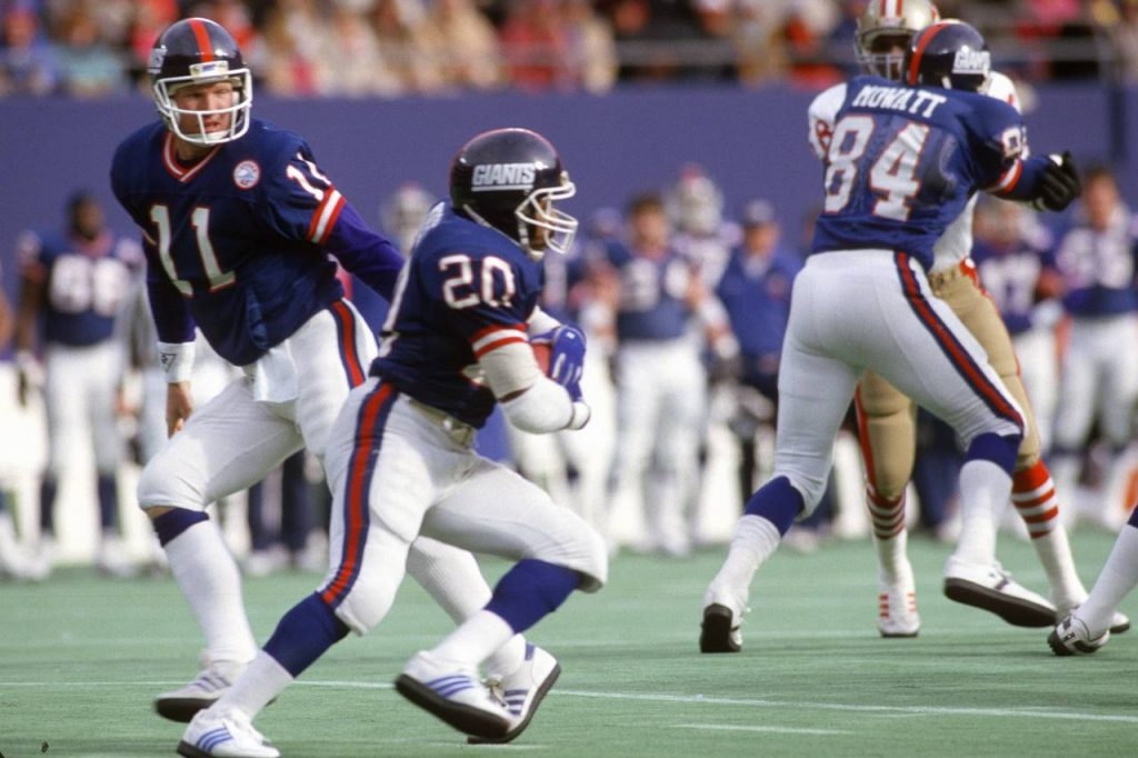 Joe Morris, New York Giants (January 4, 1987)