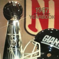 1987 New York Giants Yearbook