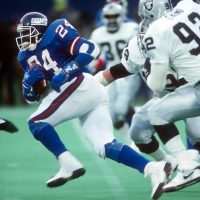 Ottis Anderson, New York Giants (December 24, 1989)