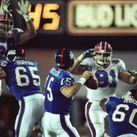 Bart Oates, Jeff Hostetler, Eric Moore; New York Giants (January 27, 1991)