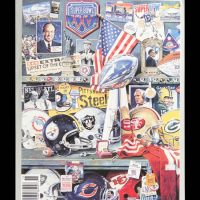 New York Giants Super Bowl XXV Game Program – © USA TODAY Sports Images