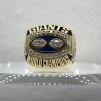 New York Giants Super Bowl XXV Ring