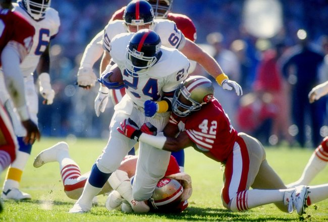 Ottis Anderson, New York Giants (January 20, 1991)