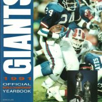 1991 New York Giants Yearbook