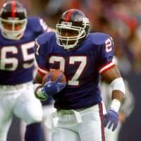 Rodney Hampton, New York Giants (October 25, 1992)