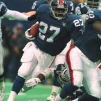 Rodney Hampton, New York Giants (December 24, 1994)
