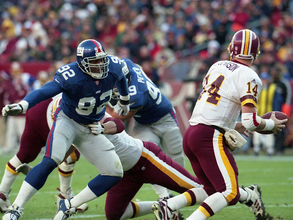Michael Strahan, New York Giants (December 3, 2000)