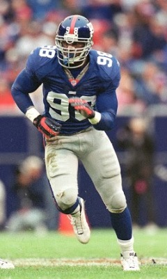 Jessie Armstead, New York Giants (September 30, 2001)