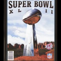 New York Giants Super Bowl XLII Game Program