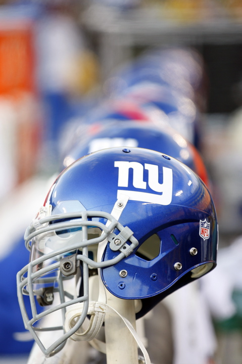 New York Giants Helmets (January 15, 2012)
