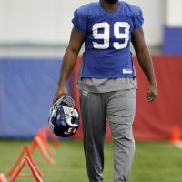 Chris Canty, New York Giants (January 18, 2012)