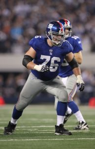 Chris Snee, New York Giants (December 11, 2011)