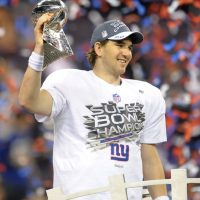 Eli Manning, New York Giants (February 5, 2012)