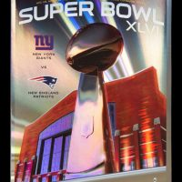 New York Giants Super Bowl XLVI Game Program