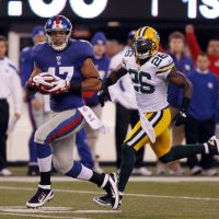 Travis Beckum, New York Giants (December 4, 2011)