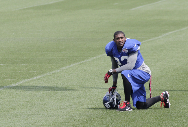 Corey Webster, New York Giants (August 22, 2012)