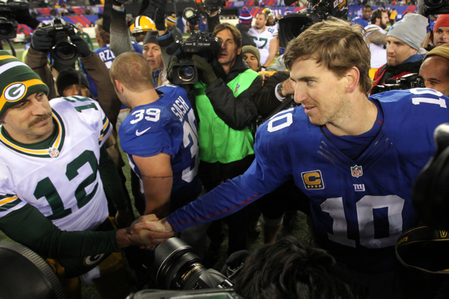 Eli Manning, New York Giants (November 25, 2012)