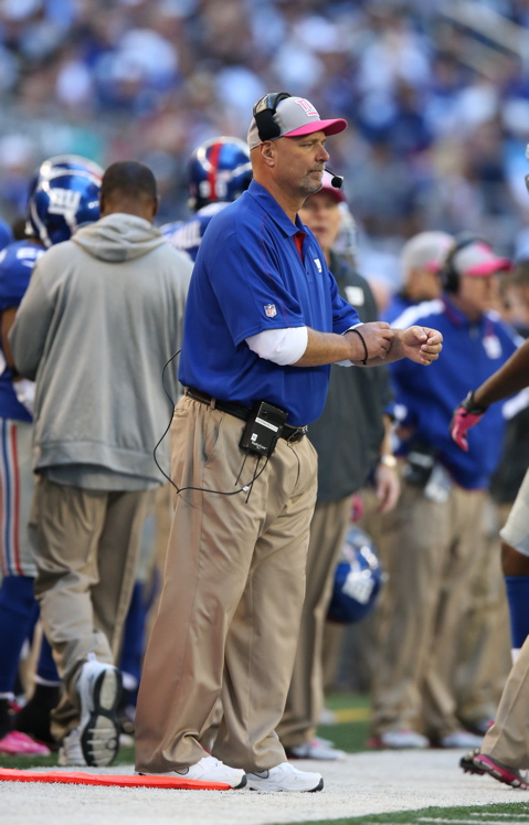 Jim Herrmann, New York Giants (October 28, 2012)