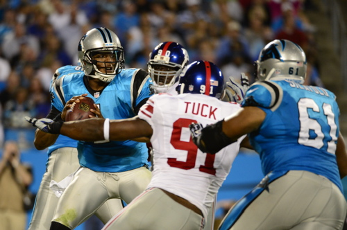 Justin Tuck, New York Giants (September 20, 2012)