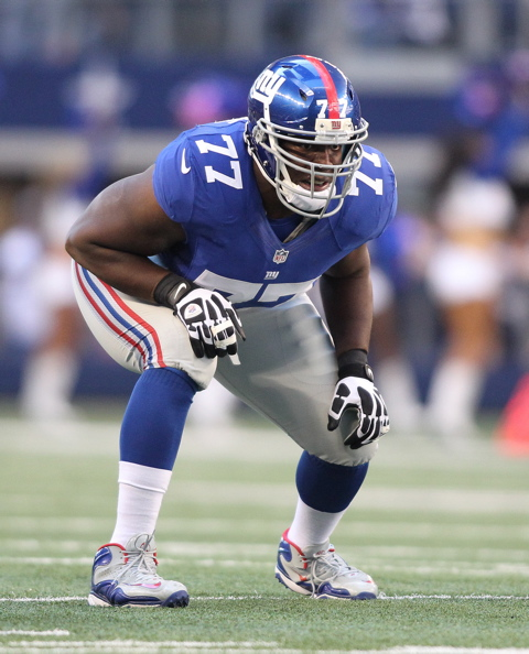 Kevin Boothe, New York Giants (October 28, 2012)