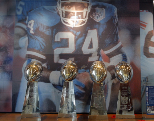 New York Giants Super Bowl Trophies (June 14, 2012)